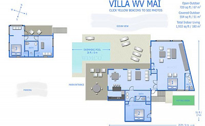 Vacation Rental St Barthelemy WV MAI Villa LaMaison St Barts Villa Maiico Desktop