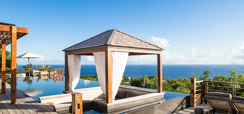 Vacation Rental St Barthelemy WV ARO Villa St Barts Villa AROdek Desktop