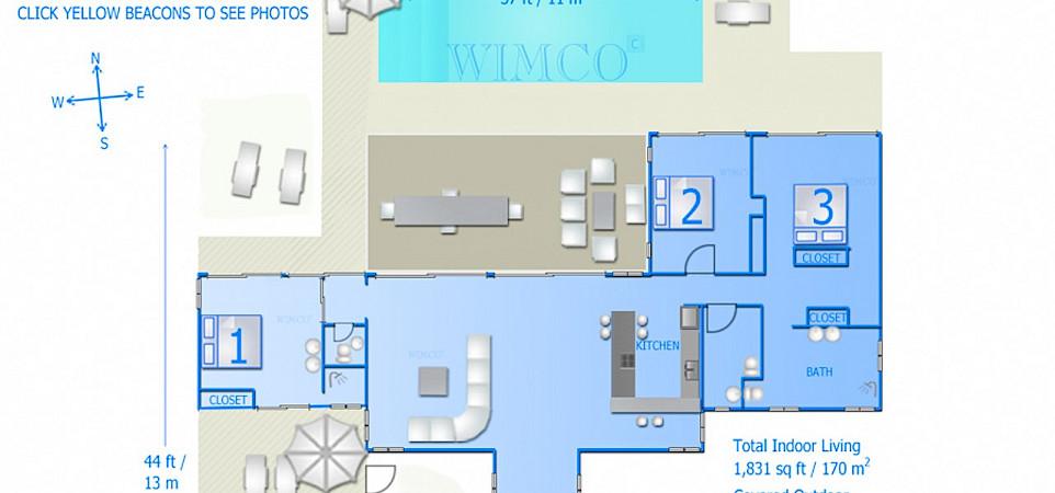 Vacation Rental St Martin WV ZUM Villa St Barts Villa Zumfpl Desktop
