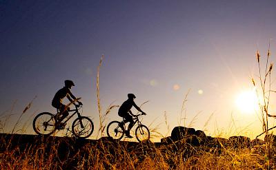Biking at Pumulani. ©TO