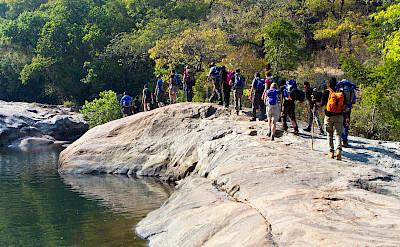Hiking in Mount Mulanje. ©TO