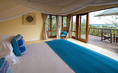 Luxury room at Pumulani at Cape Maclear ©TO