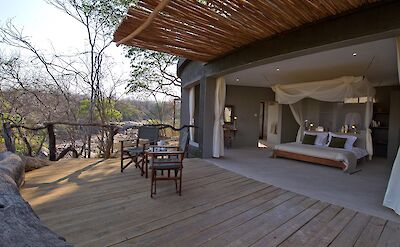 Chalet at Mkulumadzi in Majete Wildlife Reserve. ©TO