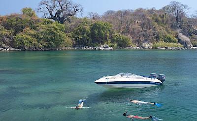 Snorkeling in Lake Malawi. ©TO