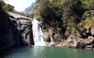 Waterfall in Mount Mulanje. ©TO