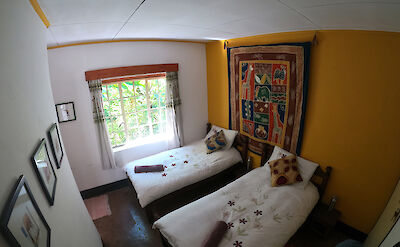 Rooms at Zomba Forest Lodge ©TO