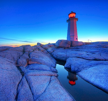 Peggy's Cove, Halifax, Nova Scotia, Canada. Photo via Flickr:paul bica