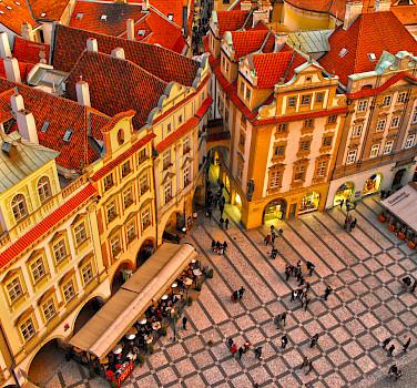 Old Town Square in Prague, Czech Republic. Photo via Flickr:Miguel Virkkunen Carvalho