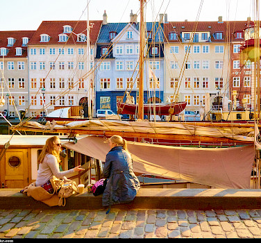 Nyhavn or New Harbor in Copenhagen, Denmark. Photo via Flickr:Moyan Brenn