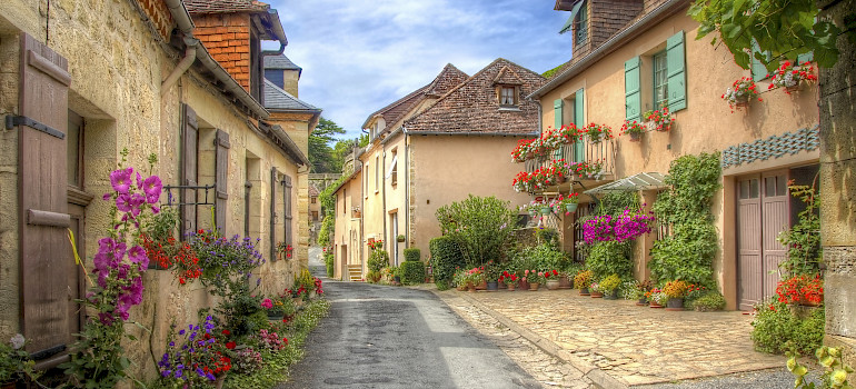 Village in Dordogne, France. Photo purchased via iStock.