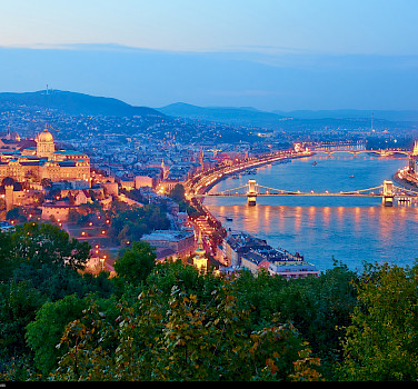 Budapest on the Danube River, Hungary. Photo via Flickr:Moyan Brenn