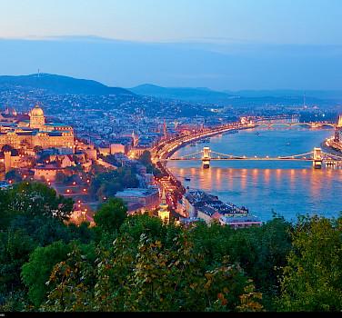 Budapest on the Danube River, Hungary. Photo via Flickr:Moyan Brenn