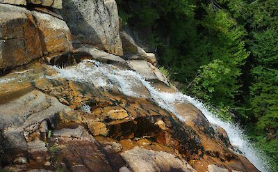 Arethusa Falls in New Hampshire. Flickr:Chris Luczkow