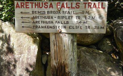 Arethusa Falls Trail. Flickr:Fenla Balme