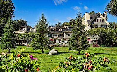 Beautiful architecture in Bar Harbor, Maine. Flickr:Bud Ellison