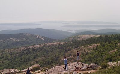 Hiking the Cadillac Mountains in Maine. Flickr:Kevin Kelley