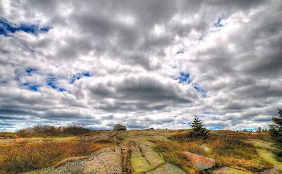 Cadillac Mountain is part of the Acadia National Park in Maine. Flicke:Kim Carpenter