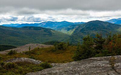 The top of Caribou Mountain offers great views. Flickr:Paul VanderWerf