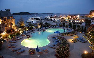 Harborside Hotel, Spa & Marina in Bar Harbor, Maine. Flickr:Brian Snelson