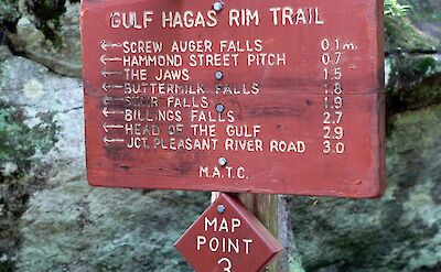 Gulf Hagas Rim Trail in Maine. Flickr:Lee Coursey