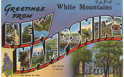 Greetings from New Hampshire! Flickr:Boston Public Library