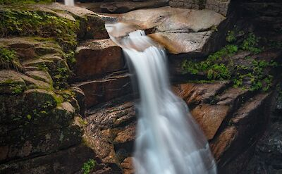 Waterfall at the White Mountains, N.H. Flickr:Christian Collins