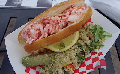 Lobster roll in Canada! Flickr:pelican