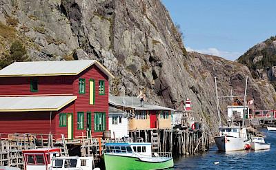 Quidi Vidi, fishing village in New Foundland, Canada. ©TO