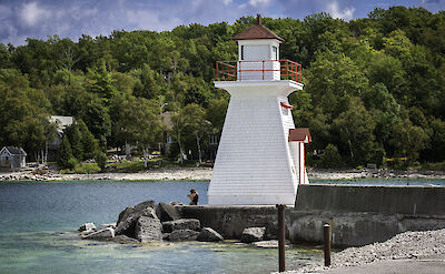 Lion's Head Lighthouse in Ontario, Canada. Flickr:Gary Paakkonen