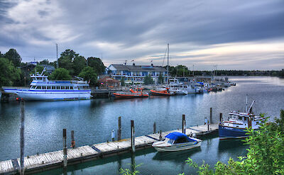 Tobermory, the freshwater scuba diving capital of the world in Ontario, Canada. Flickr:CyclopsPhoto