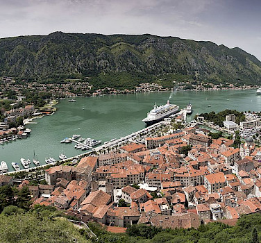 Port of Kotor, Montenegro. Photo via Wikimedia Commons:Chensiyuan