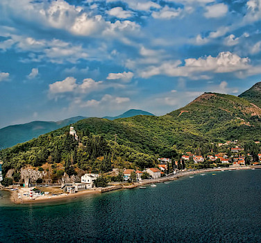 Montenegro coastline near Kotor. Photo via Flickr:Trish Hartmann