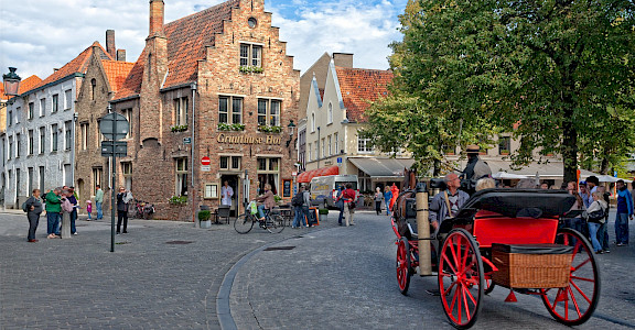 Bruges in West Flanders, Belgium. ©Hollandfotograaf 51.209391, 3.224998