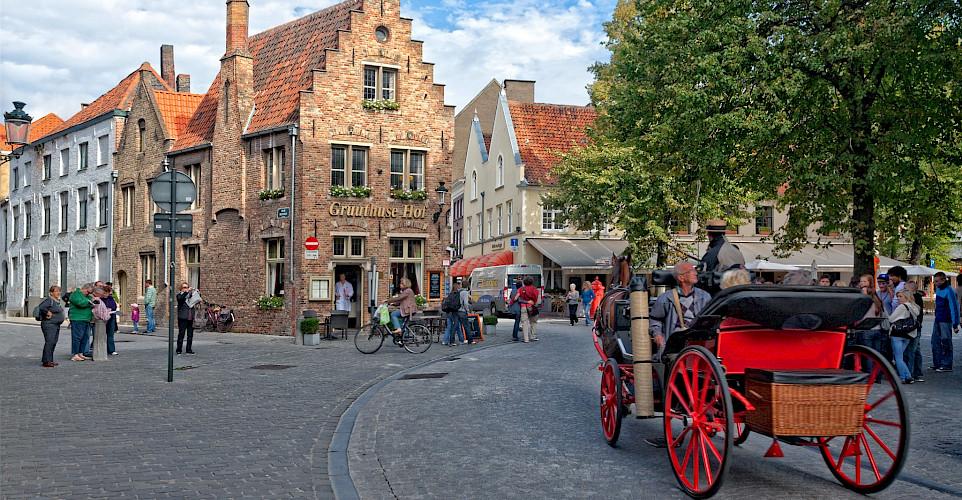 Bruges in West Flanders, Belgium. ©Hollandfotograaf