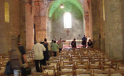 Monastery in Camprodon, Catalonia, Spain. CC:Bertrand GRONDIN