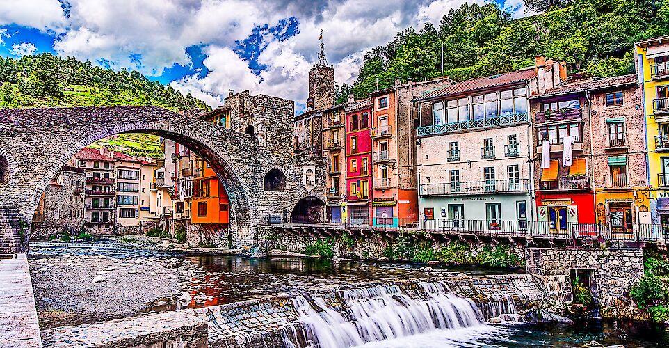 Camprodon, Catalonia, Spain. Flickr:pere sebastian