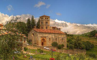 Iglesia Santa Cecilia in Molló, Catalan Pyrenees, Spain. CC:Bertrand GRONDIN