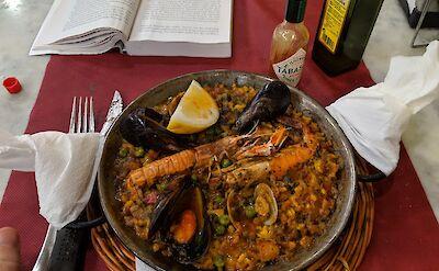 Paella in Catalonia, Spain. Flickr:Cory Doctorow