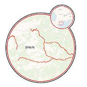 The Catalan Pyrenees Map