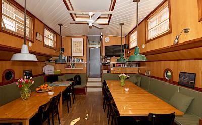 Feniks - Dining Area - Bike & Boat Tours