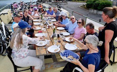 Feniks - Dining on the Sundeck - Bike & Boat Tours