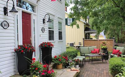 Darlington House B&B in Niagara, Canada.