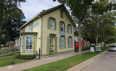 Port Colborne Historical & Marine Museum in Canada. CC:Philcomanforterie