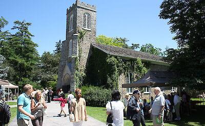 St Mark's Church in Niagara-on-the-Lake, Canada. CC:Paste