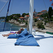 deck para banho de sol - Kapetan Jure