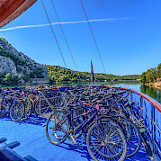 Bicycle storage - Kapetan Jure | Bike & Boat Tours