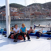 Sun Deck - Kapetan Jure | Bike & Boat Tours