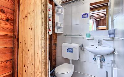Cabin Bathroom - Tarin | Bike & Boat Tours