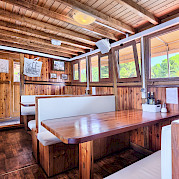 Dining Area - Tarin | Bike & Boat Tours