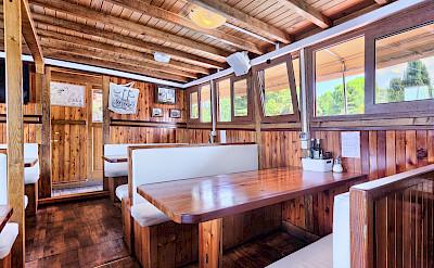 Dining Area - Tarin | Bike & Boat Tours